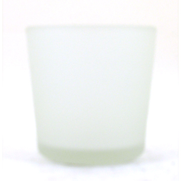 Basic Frosted Votive Holder Clear