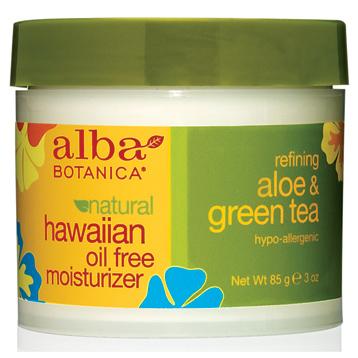Hawaiian Aloe & Green Tea Moisturiser