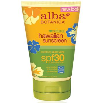 Hawaiian Aloe Vera Sunscreen SPF30