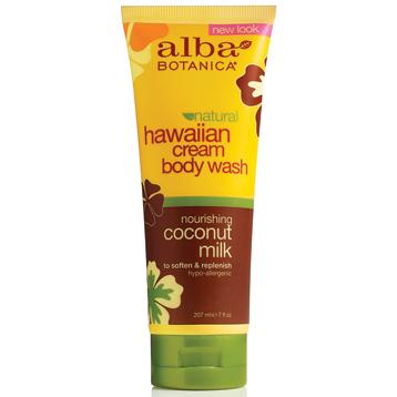 Hawaiian Coconut Milk Cream Body Wash