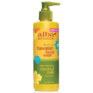 Hawaiian Coconut Milk Facial Cleanser