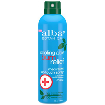 Cooling Aloe Burn Relief Medicated No-Touch Spray
