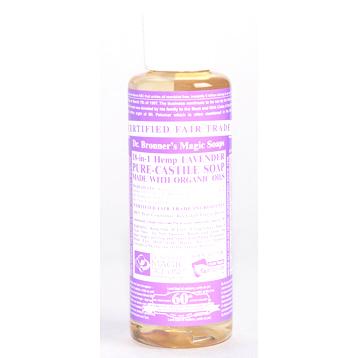 Organic Lavender Castile Liquid Soap