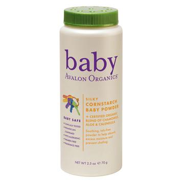 Baby Cornstarch Baby Powder