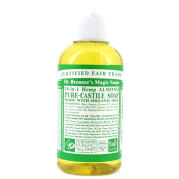 Organic Almond Castile Liquid Soap
