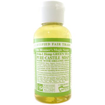 Organic Green Tea Castile Liquid Soap