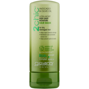 2Chic Avocado & Olive Oil Ultra-Moist Deep Moisture Hair Mask
