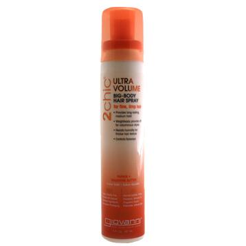 2Chic Tangerine & Papaya Butter Ultra-Volume Big Body Hair Spray