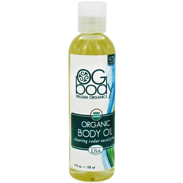 Organic Clearing Body Massage Oil