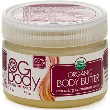 Organic Warming Body Butter