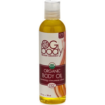 Organic Warming Body Massage Oil